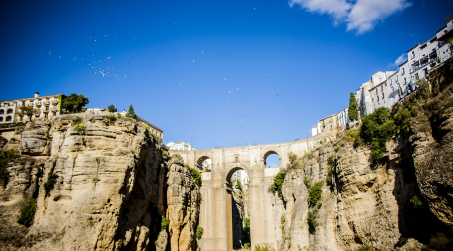 Ronda, a White Village with history in Malaga