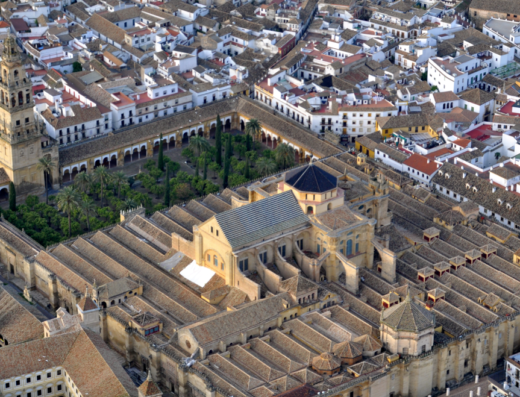 Granada: Catedral and Capilla Real from Córdoba